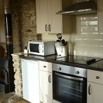 Oven, fridge and microwave