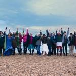 The Wild Women on the Beach