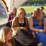 Sarah Oakwood and her daughters